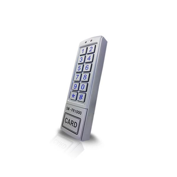 (설치비포함-유리문출입통제)SM-FR1000 카드인식 강화도어 출입통제장치 방수형카드키 사무실 출입통제 출입통제시스템