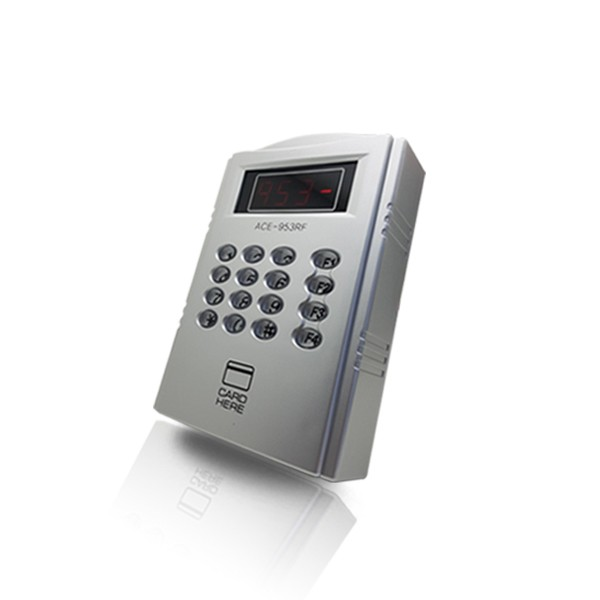 (설치비포함-유리문출입통제)ACE-953RF 강화유리문 강화유리도어 카드키 카드출입 출입통제단말기 출입통제시스템