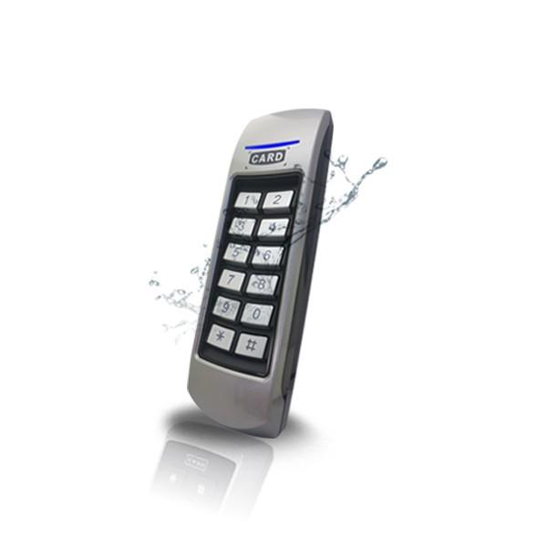 (설치비포함-유리문출입통제)GM-100 방수형카드키 카드인식기 출입문 출입통제 출입통제시스템